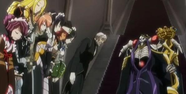オーバーロード アニメ あらすじ 第1話 プレアデス