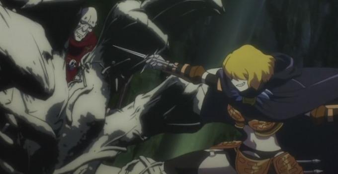 オーバーロード アニメ あらすじ 第6話 カジットとクレマンティーヌ
