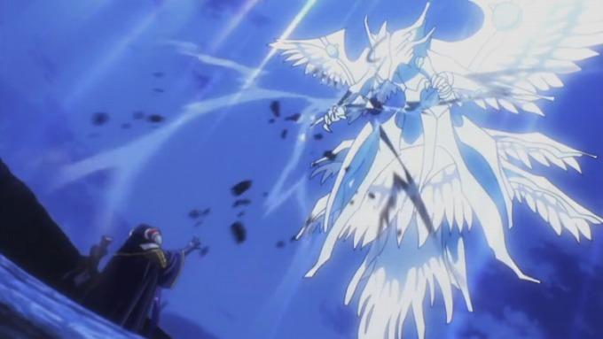 オーバーロード アニメ あらすじ 4話 最高位天使